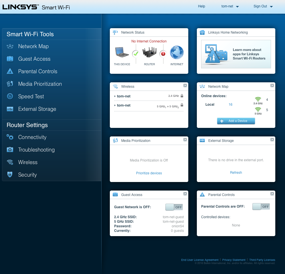linksys-router-mode